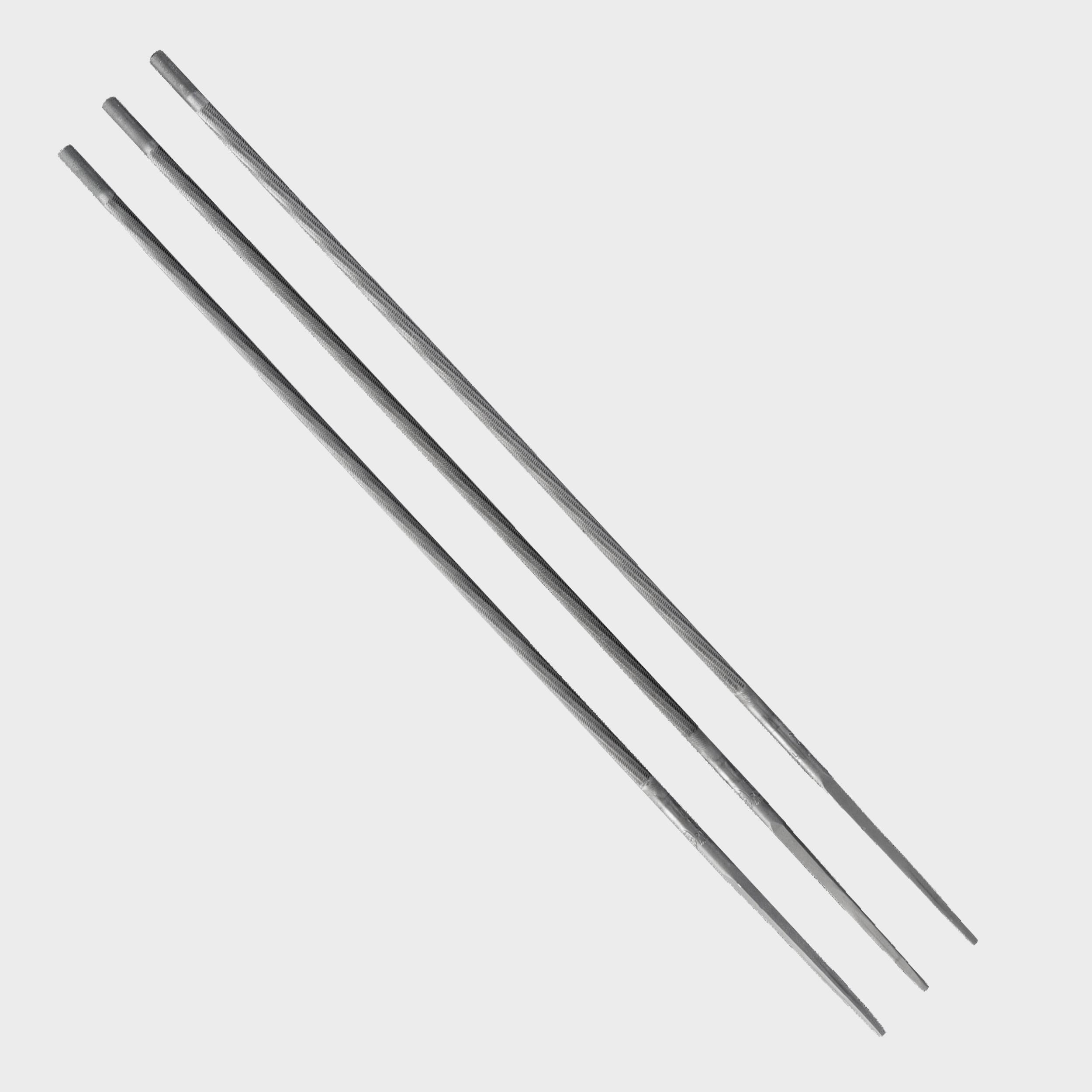 Lima de motosierra 10 piezas azul redondo rect/ángulo Kit de limas de motosierra herramienta de afilado de sierra de cadena de molienda
